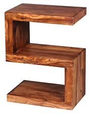Wohnling Sheesham Beistelltisch S WL1.302 Massivholz 44 x 30 x 60 cm Holz Massiv