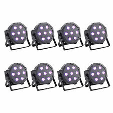 AU SHIP 8pcs 70W(7x10W) PAR64 RGBW LED PAR Light X'mas Party DJ Stage Lighting