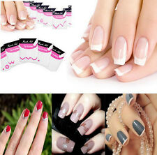 DIY 18 Different Patterns Set French Manicure Nail Art Tips Tape Sticker