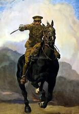 British Army Cavalry 1915 Poster 'Forward Enlist Now' World War 1 Poster 12x8""