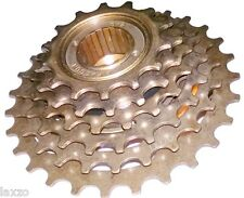Bicycle 6 Speed Index Freewheel 14-28 Tooth Mountain Bike Cassette Brass