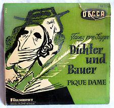 """7"""" Vinyl Franz von Suppe - DICHTER UND BAUER / PIQUE DAME - Ouvertüren"""