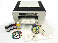 A4 Dye Sublimation Printer Package RICOH SG2100N + Refill Carts + Ink + Paper