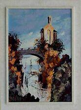 Maximo A. di Palma italienischer Maler signiert und datiert 1969 Wandbild xxx