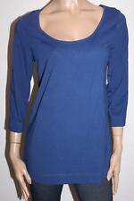 CROSSROADS Brand Ink Navy 3/4 Sleeve Pullover Top Size L BNWT #SK102