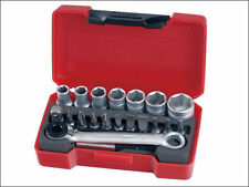 "TENG TOOLS 1/4"" Drive 20 Pce Socket & Bit Set. Compact Pocket Sized T1420"