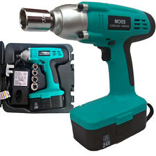 """MOSS High Torque 24v 1/2"""" Drive cordless impact wrench with 1 Hour Charger"""