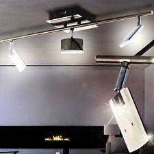LED 10,5 W Decken Leuchte Wohn Zimmer Strahler beweglich Lampe Spots 3 flammig