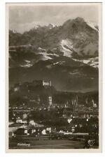 Alte SW Postkarte von Salzburg 1929  (793)