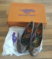 ROCKETDOG ORIENT GLOWING SATIN HIGH HEEL Shoes.UK SIZE 4. BRAND NEW IN  BOX