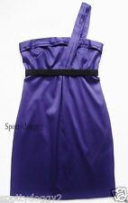 RIVER ISLAND - VGC PURPLE ONE SHOULDER PARTY DRESS - Sz 8