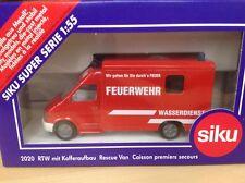 Siku 2020 Rettungswagen Wasserdienst,Auslandsmodell Feuerwehr Österreich,RAR,OVP