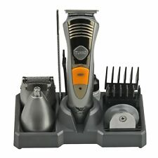 7in1 MENS KING OF SHAVER PRECISION BODY HAIR GROOMING BEARD TRIMMER CLIPPER SET