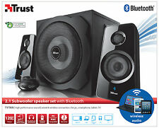 TRUST 19368 2.1 TYTAN 120W WIRELESS BLUETOOTH +WIRED OPTION SPEAKER SET +REMOTE
