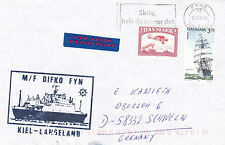 DANISH FERRY SHIP MF DIFKO FYN A SHIPS CACHED COVER