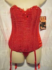 29066, Shirley of Hollywood - Corset - Red - Size 34B/C