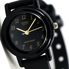 Casio Classic Ladies Black Analogue Watch LQ-139A-1 Resin Band New
