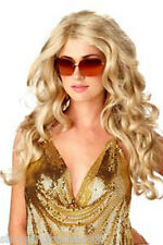 70's and 80's Blonde Charlies Angel Wig