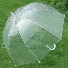 Transparent Clear Rain Umbrella Parasol Dome for Wedding Party Favor New