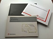 VAUXHALL VIVARO SERVICE BOOK HANDBOOK & WALLET PACK - 2002 To 2007 Brand New
