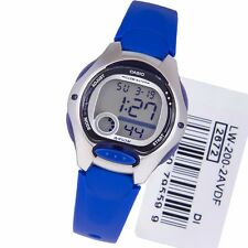 LW-200-2A Blue Children's Genuine Casio Watch 10 Year Battery Lift 50M Led Light