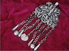 Beautiful Guizhou Miao Silver Handmade Pendant W025
