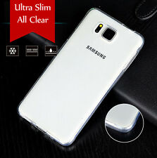 Ultra Slim High Gloss Frosted TPU Gel case For Samsung Galaxy Alpha G850