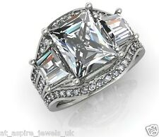 3.00 CT RADIANT CUT DIAMOND SOLITAIRE ENGAGEMENT RING SOLID IN 14 CARAT GOLD