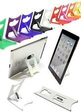 """Apple iPad, Tab, Asus, 9"""" 10"""" Computer Tablet Holder WHITE iClip Folding Stand"""