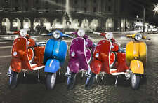 RETRO VESPA ADVERTISING QUALITY CANVAS PRINT Poster vintage scooter