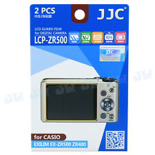 LCD Guard Film Camera Screen Display Protector For CASIO Exilim EX-ZR500 ZR400