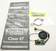 HORNBY DIGITAL CLASS 47 TTS SOUND DECODER AND SPEAKER *NEW*