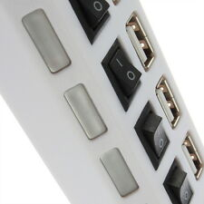 Multi Expansion 4 Ports Tap USB 2.0 High Speed Hub ON/OFF Switch For PC Laptop