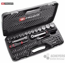 """FACOM RS.440E  Steckschlüsselkasten, Knarrenkasten 53-tlg.  1/2"""" + 1/4''"""
