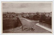 TAY STREET, MONIFIETH: Angus postcard (C12391)