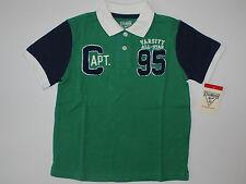 Poloshirt~NEU~USA~T-Shirt~74-80~Oshkosh~Sommer~Polo~grün~Amerika~boy~