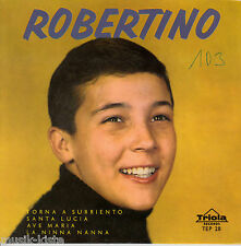 "ROBERTINO (Loreti) -Torna a surriento ★ 7"" Vinyl EP Single *4 Tracks"