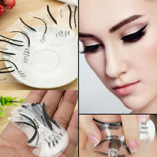 10Pcs Makeup Beauty Cat Eyeliner Smokey Eye Stencil Models Template Shaper Tool