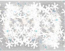 1 Dose Schneeflocken weiss irisierend. Mit Glitterpuder.Glitzer, Snowflakes
