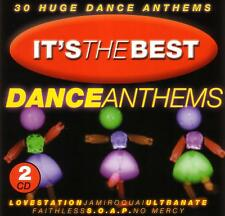*  ITS THE BEST DANCE ANTHEMS / VARIOUS ARTISTS - 2 CD SET