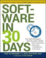 NEU Buch Software in 30 days Creators of SCRUM Ken Schwaber Jeff Sutherland