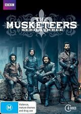 The Musketeers : Series 3 (DVD, 2016, 4-Disc Set)