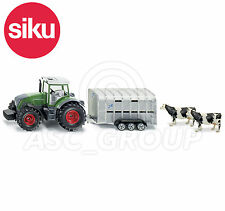 SIKU NO.1956 1:50 JOHN DEERE TRACTOR WITH IFOR WILLIAMS TRAILER Dicast Model Toy