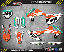 KTM SX 250 2016 2017 Full Custom Graphic Kit - RECKLESS STYLE - stickers decals