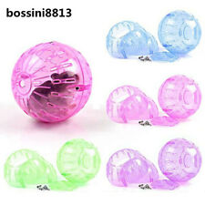 Pet Rodent Mice Jogging Hamster Gerbil Rat Play Plastic Toy Exercise Ball New BO