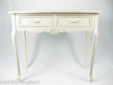 SHABBY CHIC/VINTAGE HALL DRESSING TABLE DESK 90CM FRENCH VICTORIAN RANGE CREAM