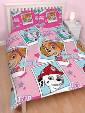 Paw Patrol Stars Double Duvet Cover Quilt Cover Bedding Set Childrens