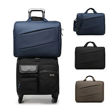 Mens Business Briefcase Travel Carry Laptop Bag for 17'' inch Note Book Computer