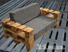 Lounge Gartenmöbel 2-Sitzer Palettenmöbel, Terrasse vintage Design Balkon