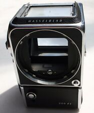 HASSELBLAD 500 EL/M CHROME BODY TAKES AA BATTERIES